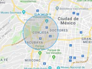 mapa de la condesa en la cdmx